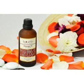 Masážny olej Kvetinový mix - 99% prírodný