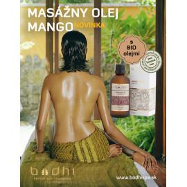 Masážny olej Mango - 99% Prírodný