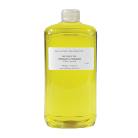 Masážny olej Citrónová tráva Profi - 100% prírodný