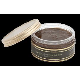 Telový peeling Trstinový cukor a káva - 98% prírodný