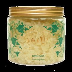 Soľ do kúpeľa Citrónová tráva - 100% prírodná