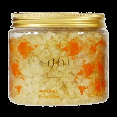 Soľ do kúpeľa Pomaranč a zázvor - 100% prírodná