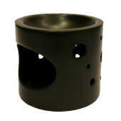 Aromalampa kruhy čierna