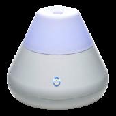 Elektrický difuzér a zvlhčovač - biely