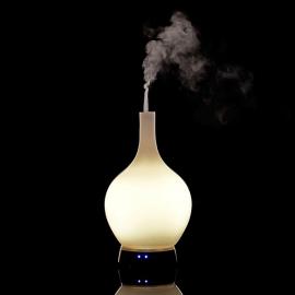 Elektrický difuzér SPA DELIGHT - biele sklo