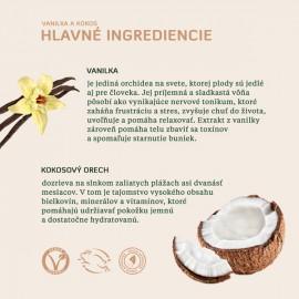 Telové mlieko Kokos a vanilka, vhodné na suchú pleť i po opalovaní 250ml