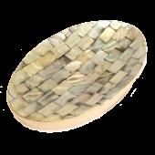 Mydelnička oválna s perleťou