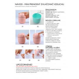 Elektrický aroma difuzér - NANO EGG USB