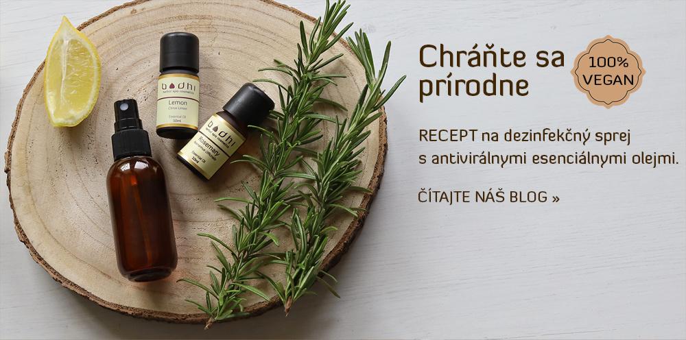 Antivirálne esenciálne oleje