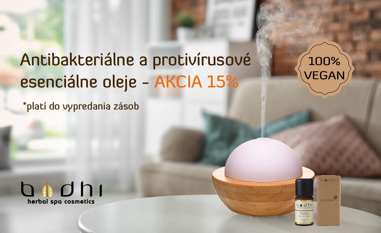 Antibakteriálne esenciálne oleje