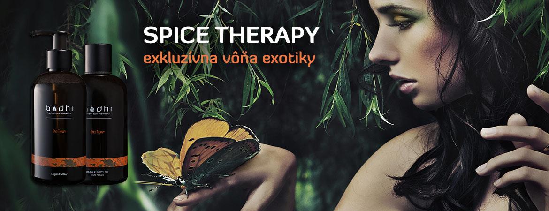 Kolekcia prírodnej kozmetiky SPICE THERAPY