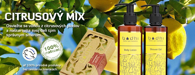 Prírodná kozmetika citróny a limetky