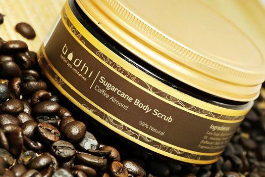 Telový peeling Káva