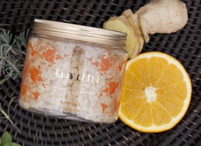 Soľ do kúpeľa Pomaranč zázvor
